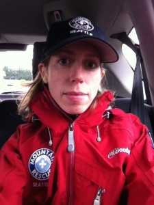 "My ""this is serious"" Mountain Rescue Face."