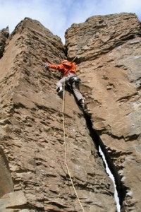 Rock climbing at Vantage, my spring home away from home.